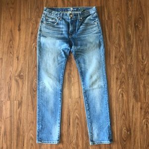 7 For All Mankind Relaxed Skinny Denim